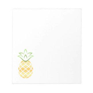 Pineapple Aloha Hawaii! Notepad