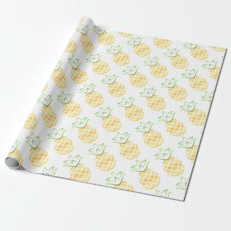Pineapple Aloha Hawaii! Wrapping Paper