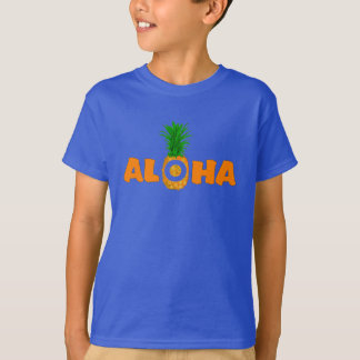 Pineapple Aloha - Summer T Shirt for Boys