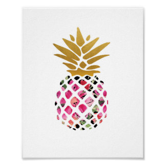 Pineapple - Art Print - Decor