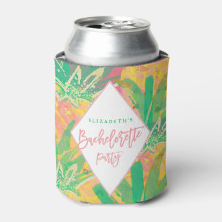 PINEAPPLE BACHELORETTE PARTY can cooler