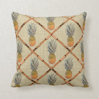 pineapple bamboo cushion