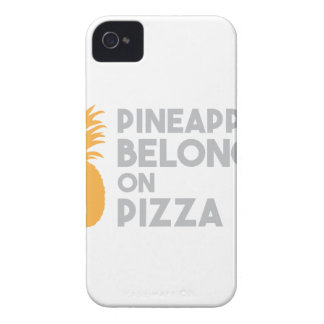 Pineapple Belongs On Pizza iPhone 4 Cover