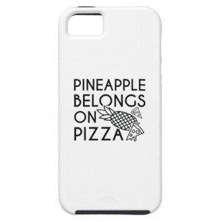 Pineapple Belongs On Pizza iPhone 5 Case