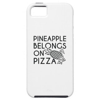 Pineapple Belongs On Pizza iPhone 5 Covers