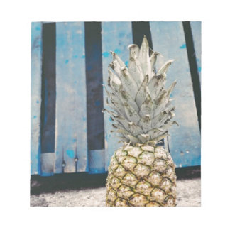 Pineapple By The Beach Notepad