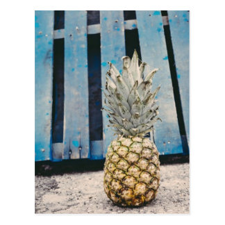 Pineapple By The Beach Postcard