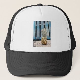 Pineapple By The Beach Trucker Hat