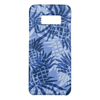 Pineapple Camo Hawaiian Tropical Blue Case-Mate Samsung Galaxy S8 Case