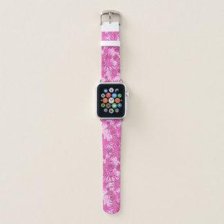 Pineapple Camo Hawaiian Tropical - Pink Apple Watch Band