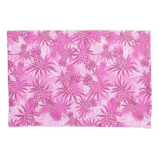 Pineapple Camo Hawaiian Tropical - Pink Pillowcase
