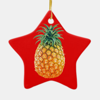 PINEAPPLE CERAMIC ORNAMENT
