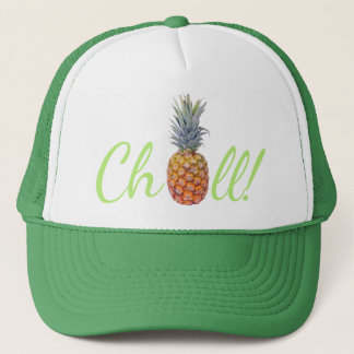 Pineapple Chill Truckers Hat