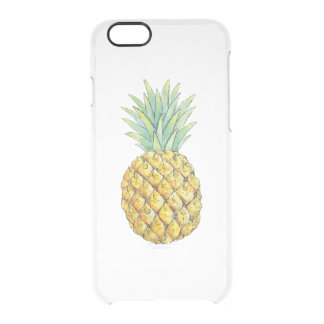 Pineapple Clear iPhone 6/6S Case