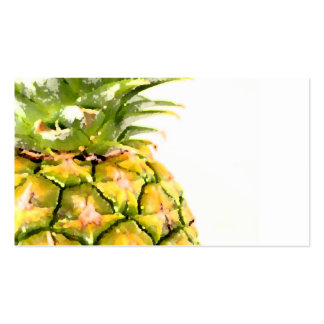 Pineapple Closeup Pack Of Standard Business Cards