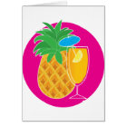 Pineapple Cocktail Card