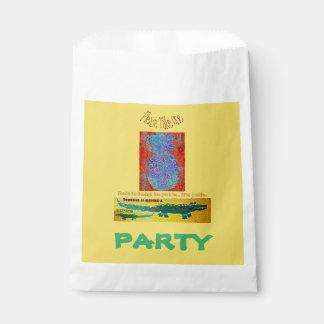 Pineapple Croc Birthday Favor Favour Bags
