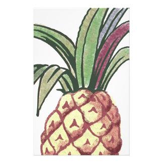 Pineapple Design Stationery