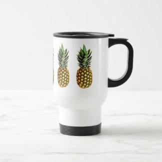 Pineapple design travel mug