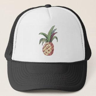 Pineapple Design Trucker Hat