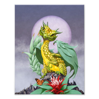 Pineapple Dragon 8.5x11 Print