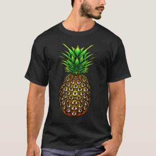 e89bc3e95eef Pineapple Eyes Psychedelic Trippy Rave T-Shirt