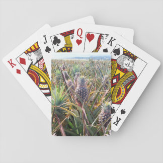 Pineapple Field Playing Cards