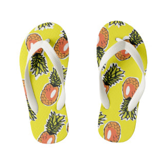 Pineapple Flip Flops Thongs