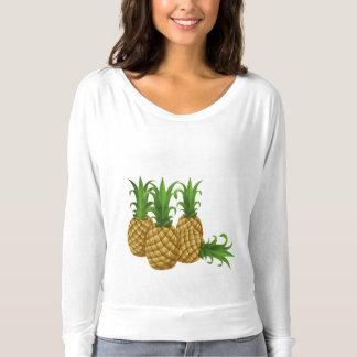 Pineapple Flowy Long Sleeve T-Shirt