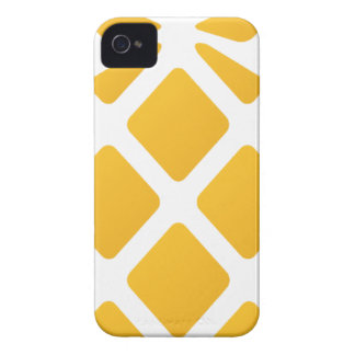 pineapple, fruit, logo, food, tropical, citrus, ye iPhone 4 cover