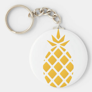 pineapple, fruit, logo, food, tropical, citrus, ye key ring
