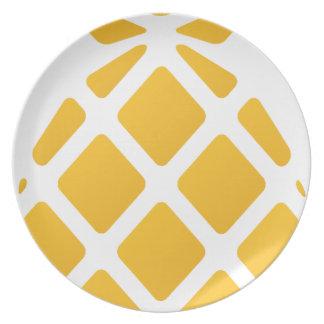 pineapple, fruit, logo, food, tropical, citrus, ye plate