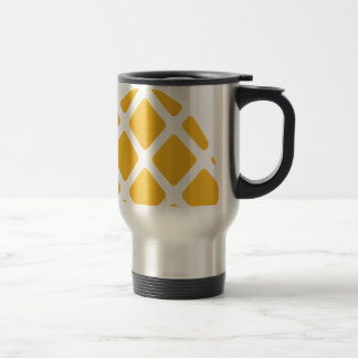 pineapple, fruit, logo, food, tropical, citrus, ye travel mug