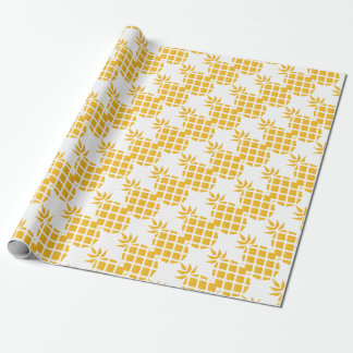 pineapple, fruit, logo, food, tropical, citrus, ye wrapping paper