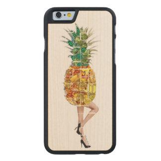 Pineapple Gems Carved® Maple iPhone 6 Slim Case