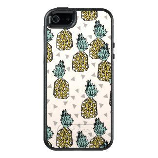 Pineapple Geometric Tropical Summer Andrea Lauren OtterBox iPhone 5/5s/SE Case