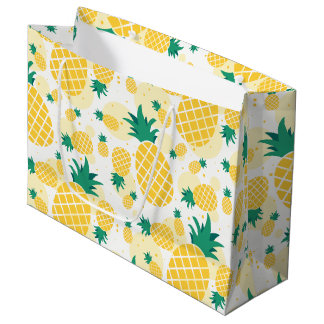 Pineapple Gift Bag - Large, Glossy