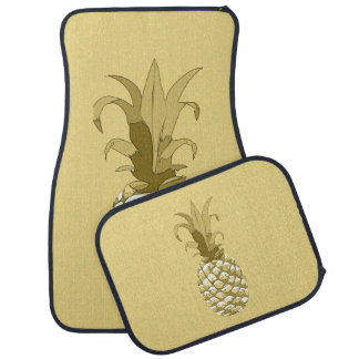 Pineapple Gold ID239 Floor Mat