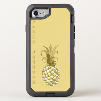 Pineapple Gold ID239 OtterBox Defender iPhone 7 Case