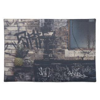 Pineapple Graffiti... Placemat