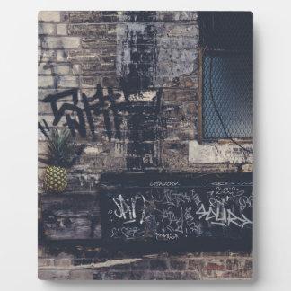 Pineapple Graffiti... Plaque