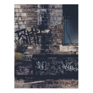 Pineapple Graffiti... Postcard