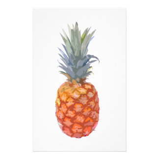 Pineapple Graphic Stationery