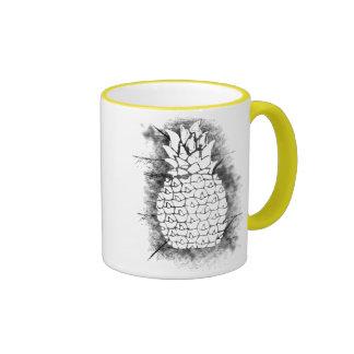 Pineapple Grunge Ringer Mug