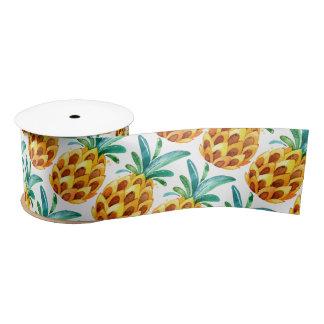 Pineapple Happiness Satin Ribbon
