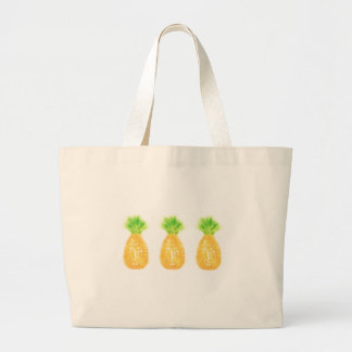 Pineapple Jumbo Tote Bag