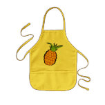 pineapple kids apron