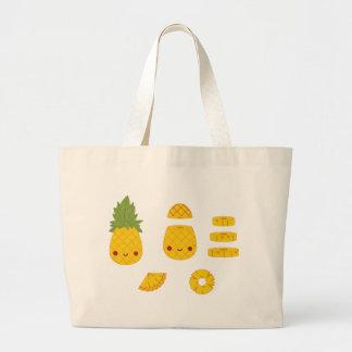 Pineapple Large Tote Bag