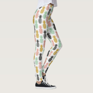 Pineapple Leggings yoga pants stretch leggings