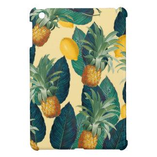 pineapple lemons yellow case for the iPad mini